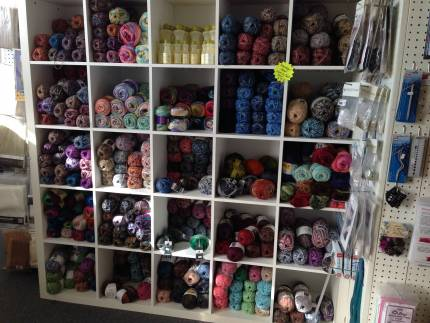 Yarn and wool selection