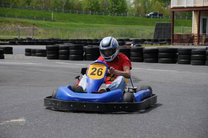 Karting st alphonse the eastern township 39 s best outdoor for Go kart montreal exterieur