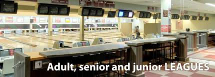 Bowling Leagues for adults, seniors and juniors